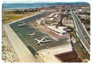 France, NICE, L'Aeroport de Nice-Cote-D'Azur, Airport, 1972 used