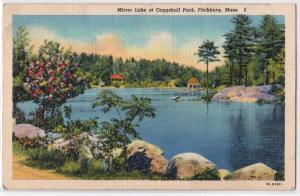 Mirror Lake, Coggshall Park, Fitchburg MA