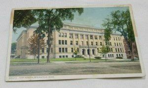 Technical Highschool Springfield MA Vintage Postcard