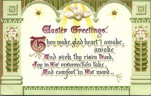 Tucks Easter Post Card Series Easter Greetings 1909