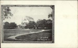 East Hampton Long Island NY St. Lukes c1905 Postcard