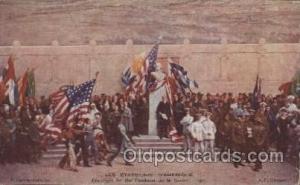 P. Carrier Belleuse, Les etats-unis D'amerique Military Postcard Postcards  P...