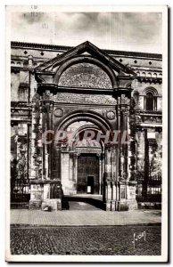 Toulouse Old Postcard Porte d & # & # 39entree of 39eglise St Sernin
