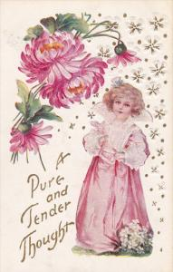 Girl & flowers , A Pure and Tender Thought , 00-10s