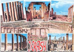Jordan Greetings from Jerash City, different aspects