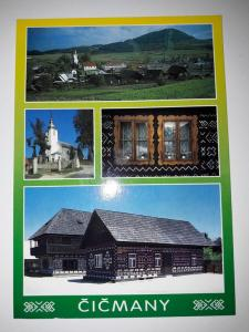 Cicmany, Slovakia, The oldest house in the region, built in 1272