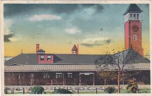 ALLENTOWN , PA , PU-1922; Central Railroad of New Jersey Passenger Station