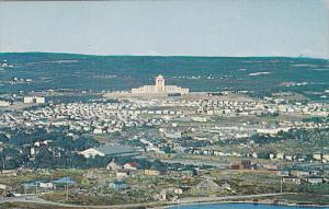 Bird's Eye View of St. John's from Signal Hill, Confederation Building, Newfo...
