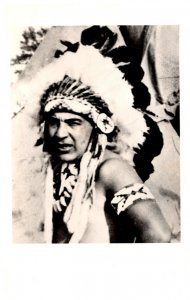 Nevada Indian Village autographed Chief  Young Deer