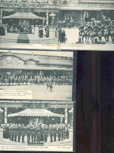 pc758 postcard Rotterdam 27 April 1904 FOUR all MOBSC UDB