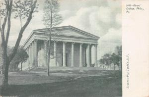 Girard College, Philadelphia, Pennsylvania, Early Postcard, Unused