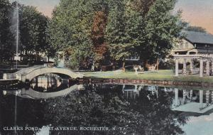 Rochester , New York  ; Clark's Pond , East Avenue , PU-1911