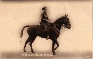 CPA SM Leopold III, Roi des Belges BELGIAN ROYALTY (827650)