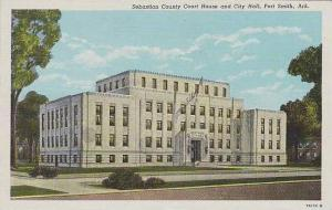 Arkansas Fort Smith Sebastian County Court House And City Hall