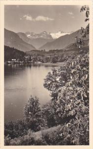 Austria Altausseerssee mit Dachstein Real Photo
