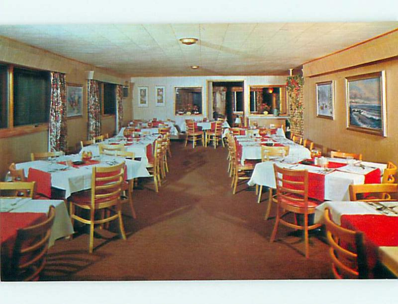 Unused Pre-1980 HICK'S LANDING RESTAURANT Fifield Wisconsin WI v8012