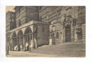Logge di Braccio e Cattedrale, Perugia, Italy, 1900-1910s