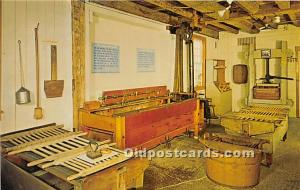 Old Vintage Shaker Post Card Wash Shop, The  Museum Old Chatham, New York, NY...
