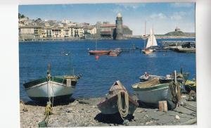 BF21111 collioure p o le port des pecheurs fishers france front/back image