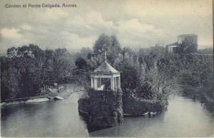 portugal, Azores Acores, PONTA DELGADA, Garden (1910s)