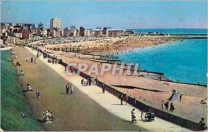 Modern Postcard Le Havre Seine Maritime of all of the beach