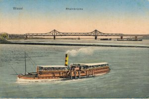 Nautica Steamship Wesel Rheinbrücke 03.29