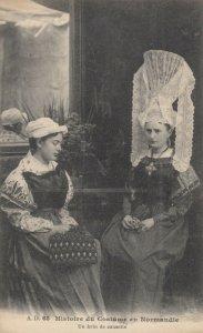 Costume en Normandie , France , 1900-1910´s