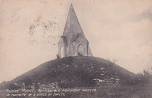 HAMPSHIRE, England, 1900-1910s; Farley Mount, Monument Erected In Memory Of A...