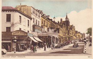 HARROGATE, Yorkshire, England, 1930's ; Parliament Street