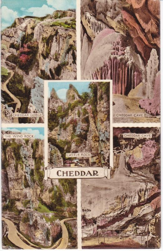 Post Card Somerset Cheddar 5 views