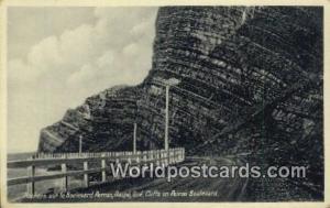 Gaspe, Quebec Canada, du Canada Rochers sur le Boulevard Perron, Cliffs on Pe...