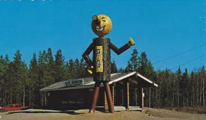 Tourist Booth , PRINCE GEORGE , B.C. , Canada , 50-60s