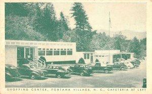 Fontana Village North Carolina shopping center & cafeteria antique pc ZE686396