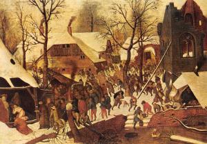 Pieter Brueghel de Jonge, The adoration of the Magi L'adoration des Mages