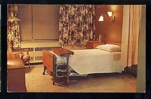 Danville, Illinois/IL Postcard, Lakeview Memorial Hospital, Private Room, 1963!