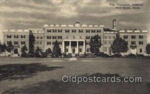The Truesdale Hospital, Fall River MA, Mass, USA Medical Hospital Unused crea...