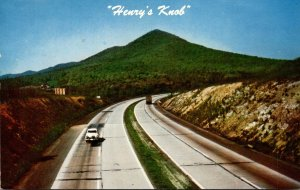 Pennsylvania Turnpike Henry's Knob Looking West In Franklin ...