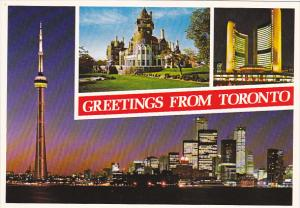 Canada Greetings From Toronto