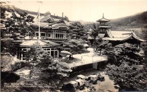 B86/ Miyanoshita Spa Japan Foreign RPPC Postcard c20 Main Building Fujiya Hotel