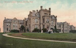 WHITBY , Ontario , Canada , 1909 ; Ontario Ladie's College