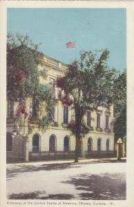 Embassy of the United States , OTTAWA , Ontario , Canada , 1930-40s