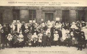 CPA Paris 8e (Dep. 75) Société Protectrice de L'Enfance (75304)
