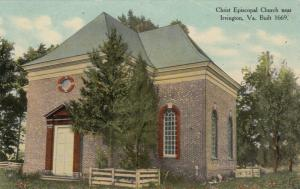 IRVINGTON, Virginia , 00-10s; Christ Episcopal Church