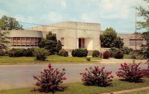 Tupelo Mississippi~Primary School~Art Deco~Clock Front~1955 Postcard