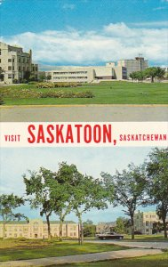 Canada Saskatchewan University Library and Convocation Hall Saskatoon