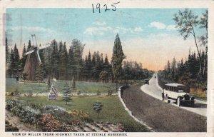DULUTH, Minnesota, PU-1925; View Of Miller Trunk Highway, At Steinle Nurseries