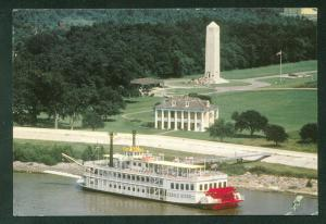 CREOLE QUEEN New Orleans Louisiana Paddlewheeler Continental Postcard