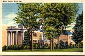 Pennsylvania Kane View Of Kane Manor 1949