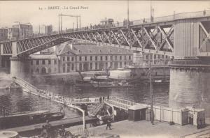 BREST, Finistere, France, 1900-1910´s; Le Grand Pond