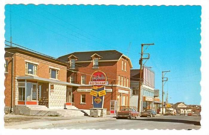Business Section , CHANDLER , Quebec, Canada , 40-60s